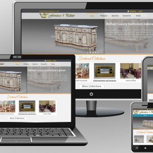 Luxury furniture website