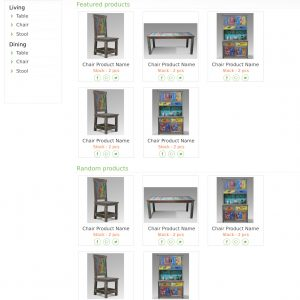 Website made for local furniture company.