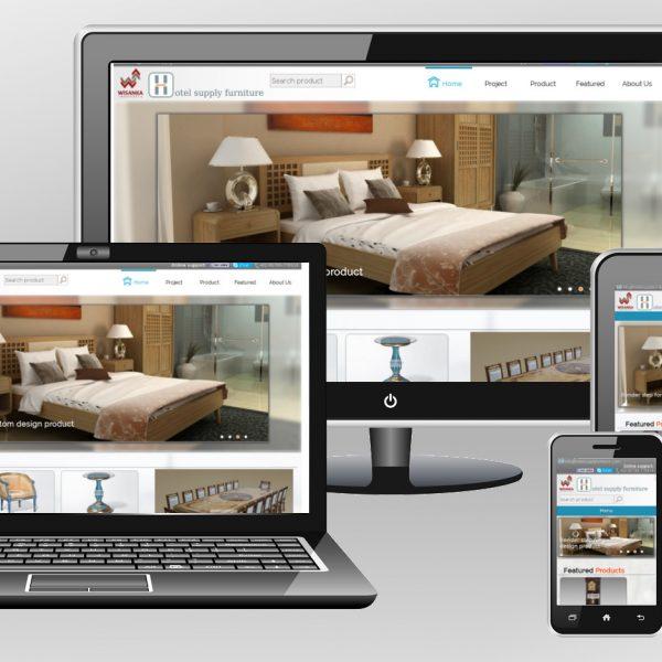 Hotel furniture supplier website
