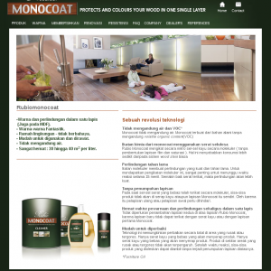 Rubio Monocoat website