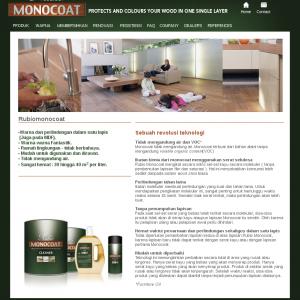 Rubio Monocoat website