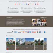 Front end project home page